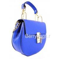 Сумка женская через плечо синяя 039214 -Tiziano Ferro dark blue