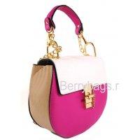 Сумка женская через плечо розовая 039214 -Tiziano Ferro pink