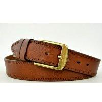 Большой и стильный джинсовый ремень 121011 - Goldman