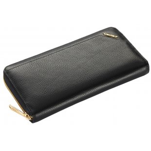 Кожаный кошелек женский  на молнии Moro&Jenny 365258