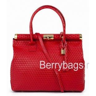 Сумка женская красная 587454 Raspberries