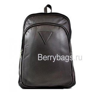 Рюкзак городской кожаный AB-8 ZERT GREY