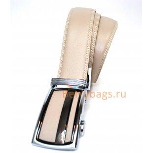 Мужской ремень Devolan белого цвета ADE 45013