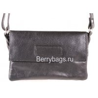 Женская сумка через плечо AO -24 -Oblong Black