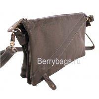 Женская плечевая сумка AO-19 -Diagy Gray