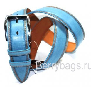 Ремень мужской кожаный широкий Adriano Ferroro K-6710