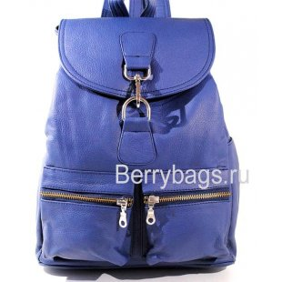 Рюкзак городского типа кожаный синий BB 144631-Inger