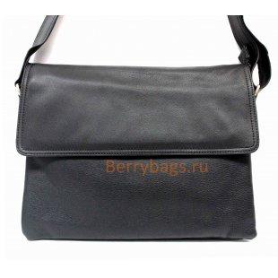 Мужская сумка Berti черная BB 39210