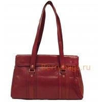 Женская сумка вишневого цвета Ellisa BB 39NFO-11 Cherry