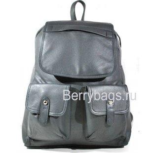 Городской кожаный рюкзак BB101823 Grey