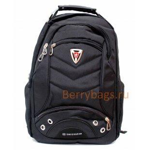 Рюкзак мужской Kristelli черный текстильный BB391565