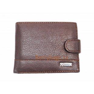 Мужское портмоне Alliance коричневое BB39193