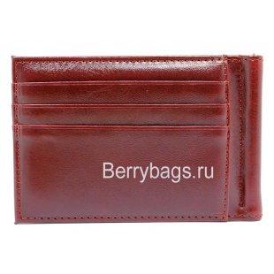 Зажим мужской Euro коричневый BB39219