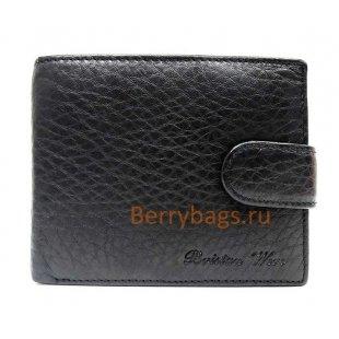 Портмоне мужское Godvin черное Bristan Wero BB39226