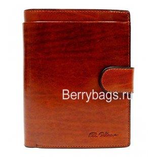 Портмоне мужское Vinslou коричневое большое BB39228