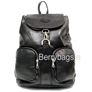 Рюкзак городской кожаный Denton BB39232 black