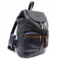 Рюкзак кожаный Derren городской BB39232 dark blue