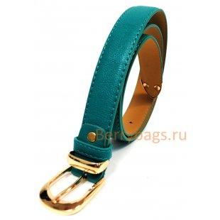Ремень женский Koulizh кожаный зеленый BB39247-01
