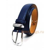 Ремень женский Mikaela кожаный синий BB39247-02