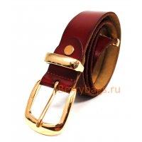 Ремень женский Conleth кожаный бордовый BB39247-06
