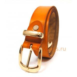 Ремень женский Cunwal кожаный горчичный BB39247-07