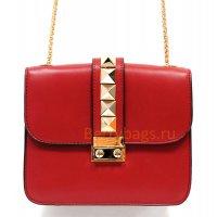 Женская сумка плечевая Devi BB39259 бордового цвета