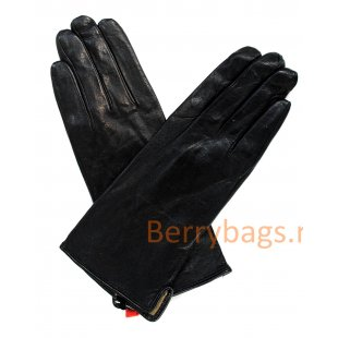 Перчатки Fiona кожаные черные BB39260