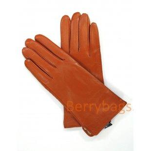 Перчатки Affina кожаные коричневые BB39261