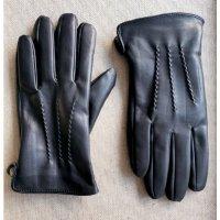 Перчатки Nordvei кожаные черные BB39262