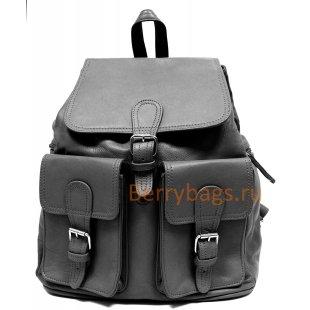 Рюкзак кожаный Beltram черный BB39264 black