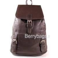 Рюкзак кожаный BB39265-03 Aracul Brown