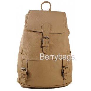 Рюкзак кожаный BB39265-05 Aracul Sand