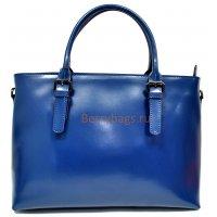 Сумка женская синяя кожа BB399601 Blue