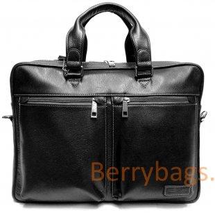 Мужская сумка Teorswint кожаная BB39L037-black