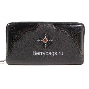 Женский кожаный кошелек на молнии BRISTAN WERO 2418 -MARICA