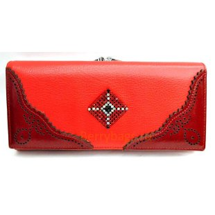 Классический женский кожаный кошелек BRISTAN WERO 2419 -ASTORYA