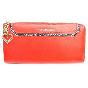 Большой женский кожаный клатч-кошелек на молнии BRISTAN WERO 2424 -ESMIRALDA