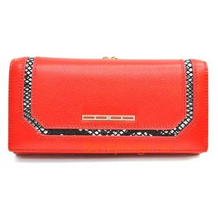 Женский кожаный кошелек BRISTAN WERO 2428 -TWIN (Red)