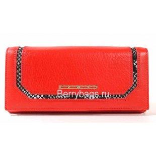 Женский классический кожаный кошелек BRISTAN WERO 2429 -FELICE (red)