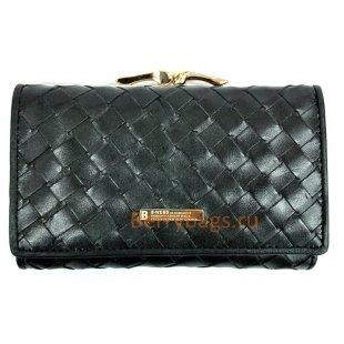 Плетеный кожаный кошелек BRISTAN WERO 2449-BATENA