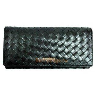 Классический плетеный кожаный кошелек BRISTAN WERO 2450-GRATENA