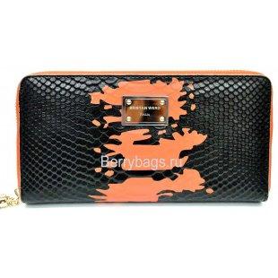 Женский кожаный кошелек на молнии BRISTAN WERO 2469-SNAKE FORSE
