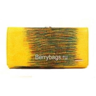 Женский кожаный кошелек классический BRISTAN WERO 2479-Pineapple
