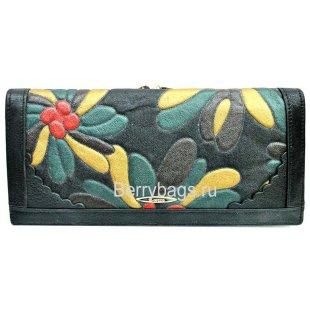 Женский кожаный кошелек BRISTAN WERO 2480-Flauer