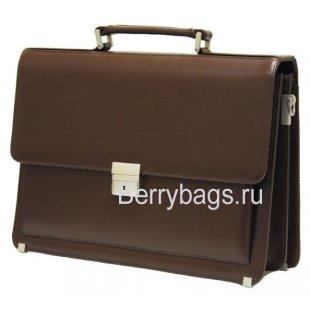 Портфель мужской Baron 2-043кВ Brown