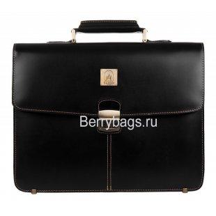Портфель мужской Baron 2-1421kb Black