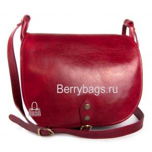 Сумочка женская кожаная Bianchi 0590 Red