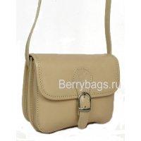 Маленькая бежевая сумочка через плечо Bianchi 6800 - beige