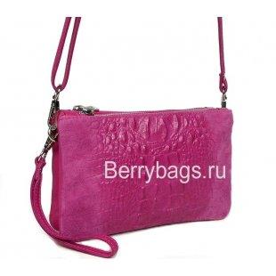 Сумочка женская розовая Bianchi 7438 Pinky