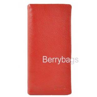 Купюрница женская красная кожа Bristan Wero 0592015